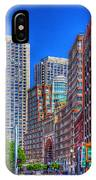 Boston Financial District IPhone Case