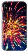 Boston Fireworks IPhone Case