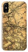 Boston Hoosac Tunnel And Western Railway Map 1881 IPhone Case