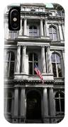 Boston Old City Hall IPhone Case