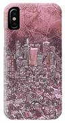 Boston Panorama Abstract IPhone Case