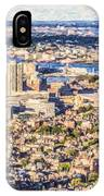 Boston Usa Elevated View IPhone Case