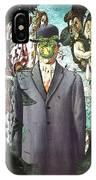 Botticelli Son-of-man 1  IPhone Case