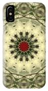 Bottle Brush Kaleidoscope IPhone Case