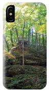 Bottom Of Devil's Punchbowl Wildcat Den IPhone Case
