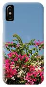 Bougainvillea Flowers IPhone Case