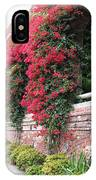 Bougainvillea Wall In San Francisco IPhone Case