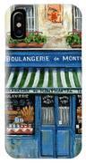 Boulangerie De Montmartre IPhone Case