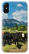 Boulder Beef IPhone Case