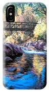 Boulder Creek Bridge IPhone Case