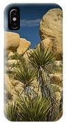 Boulders In The Joshua Tree National Park IPhone Case