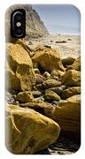 Boulders On The Beach At Torrey Pines State Beach IPhone Case