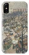 Boulevard Des Italiens Morning Sunlight IPhone Case