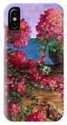 Bountiful Bougainvillea IPhone Case