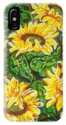 Bountiful Sunflowers IPhone X Case
