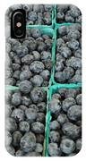 Bounty Of Blueberries IPhone Case
