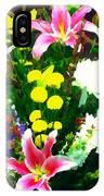 Bouquet Bounty IPhone Case