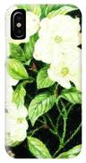 Bouquet In White IPhone Case