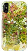 Bouquet Jaune - Original For Sale IPhone Case