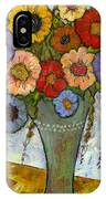 Bouquet Of Flowers IPhone Case