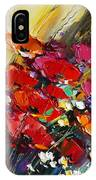 Bouquet Of Poppies IPhone Case