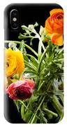 Bouquet Of Ranunculus IPhone Case