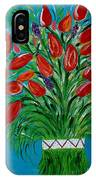 Bouquet Of Red IPhone Case