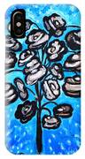 Bouquet Of White Poppies IPhone Case