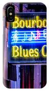 Bourbon Street Blues IPhone Case