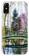 Bow Bridge - Grounds For Schulpture IPhone Case