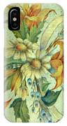 Bow Of Flowers IPhone Case