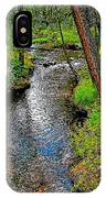 Bow River Near Lake Louise Campground In Banff National Park-ab IPhone Case