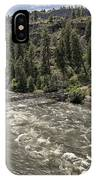 Bowl And Pitcher Area - Riverside State Park - Spokane Washington IPhone Case