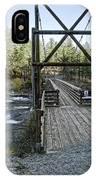 Bowl And Pitcher Bridge - Spokane Washington IPhone Case