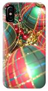 Bowl Of Christmas Colors IPhone Case