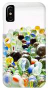 Bowl Of Marbles IPhone Case