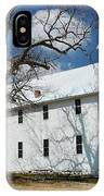 Boxley Schoolhouse IPhone Case