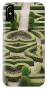 Boxwood Garden - Chateau Villandry IPhone Case