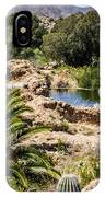 Boyce Thompson Desert Vista IPhone Case
