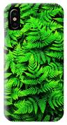 Bracken Ferns IPhone Case