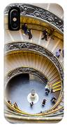 Bramante Spiral Staircase In Vatican City IPhone Case