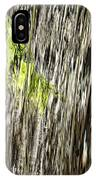 Branch In Waterfall IPhone Case