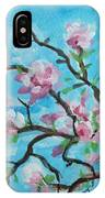 Branches In Bloom IPhone Case