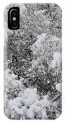 Branches Of Snow IPhone Case