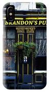 Brandon's Pub IPhone Case