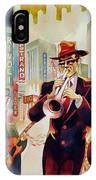 Brass On Broadway IPhone Case