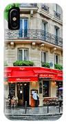Brasserie De L'isle St. Louis Paris IPhone Case