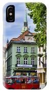 Bratislava Town Square IPhone Case