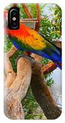 Brazilian Parrot IPhone Case