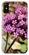 Brazilian Verbena IPhone Case